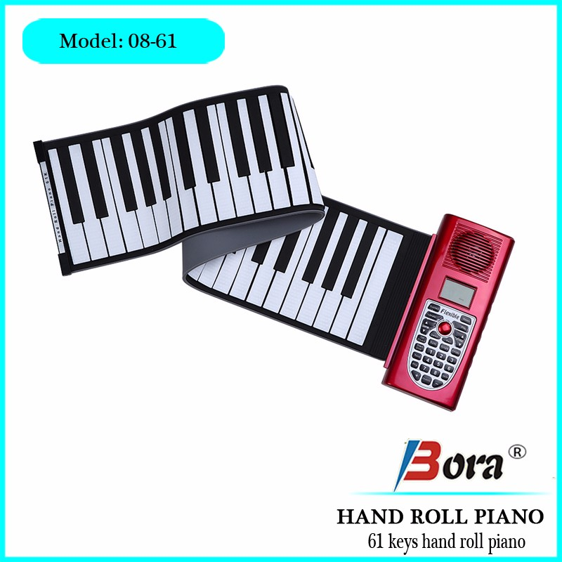 Bora laptop keyboard piano digital roller piano