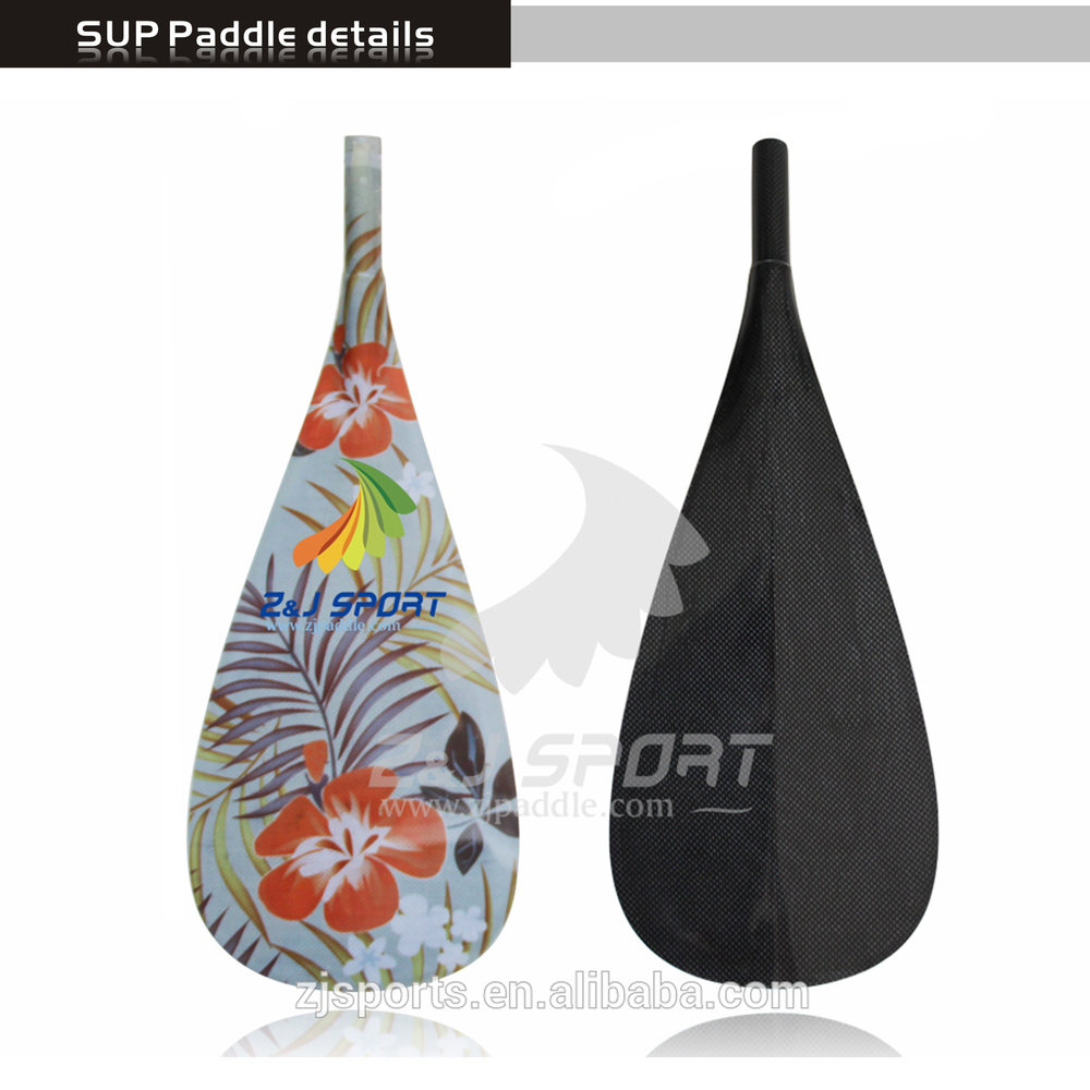 2017 ZJ SPORT New Graphics Carbon Fiber Paddle Surfboard