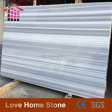 Marmald White Grey Vein Marble Tiles Import From Iran