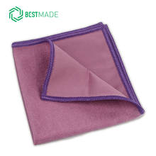 professional glasses cleaning microfiber glass cloth lint free silicon free customized silk printing logo