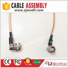 factory price Jumper DIN Type and Female male cable assembly din type connector