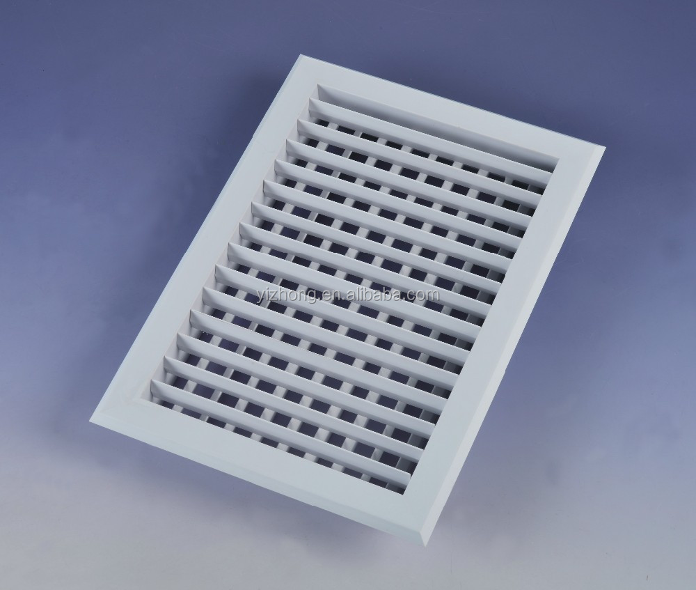 Plastic supply air grille return abs air grille for air conditioning
