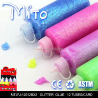 Fashion Multi-color Handmade Clay Toy glitter glue Crystal Slime