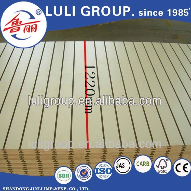 High quality slotted mdf