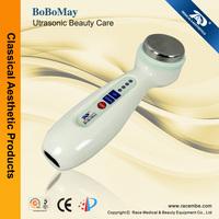 Portable personal use ultrasonic beauty product