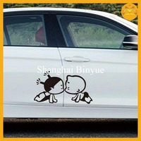 High quality car window static cling decals
