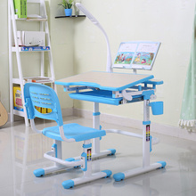 High quality colorful design plastic kids study table and chairs