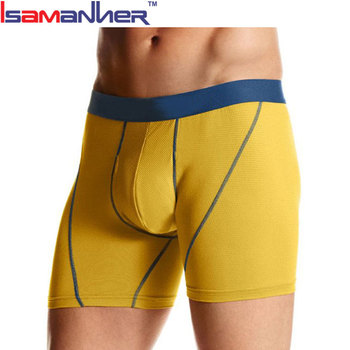 Sport athletic stretch underwear trunk men's boxer brief underwear