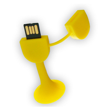 Promotional Products PVC Soft Rubber USB Flash Drive 4GB 8GB