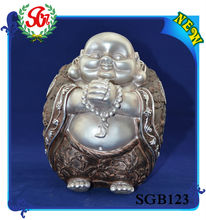 SGB123 Stand Congratulate Pose Laughing Buddha Water Fountain