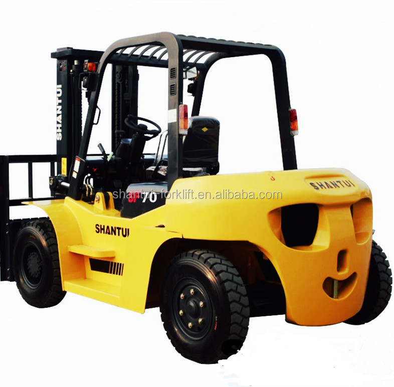 hot sale 7 ton diesel cheap fork lifter