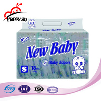 100% Cotton Super Soft Disposable Baby Diaper In Bales