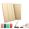 Bright Color Leather Case For Ipad air, Ultra Light Slim Leather Cover For Ipad Air2 Case