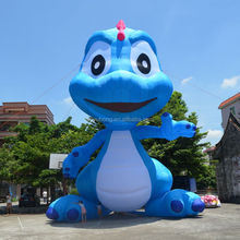 OEM 12m outdoor inflatable character cartoon for advertising