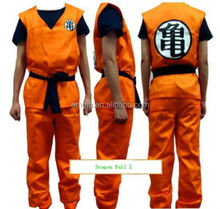 Anime Dragon Ball Z GoKu Cosplay Costume Set Fancy Party clothing HOT BMG17228