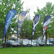 Hot Sale Cheap Feather Flags and Banners Flying Flag Banner Display