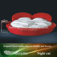 New Red round bed on sale 1033