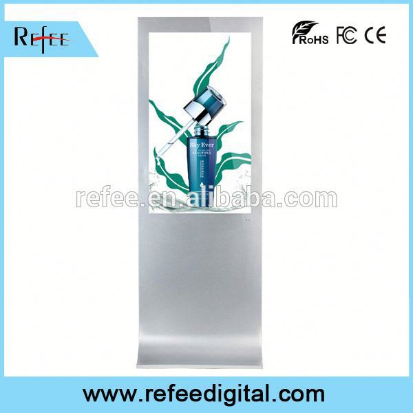 32/42/55/65/Floor Standing gas station advertising monitor top quality supermarket/shopping mall/stores/station