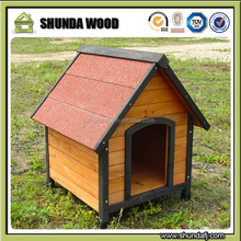 SDD004 Custom Wholesale Ourdoor Large Wooden Dog House For Sale , Wooden Dog Kennel Cages Factory Direct Cheap Price