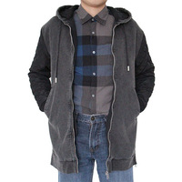 Fashion cheap mens designer winter hooded coats