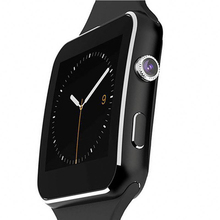 Free shipping cost Bluetooth <strong>Smart</strong> <strong>Watch</strong> X6 Sport <strong>Watch</strong> with Pedometer Message Call For Android