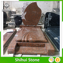 SHS Hot selling China g664 tombstone pink gravestone from China famous supplier