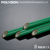 Classic Design High Quality Polygon Half Round Plastic Pipe