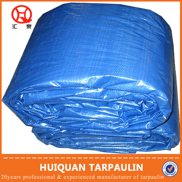 PE fabric tarpaulin stock lot in china
