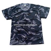 Short Sleeves T shirts British Marine Camo Military Camo T shirt