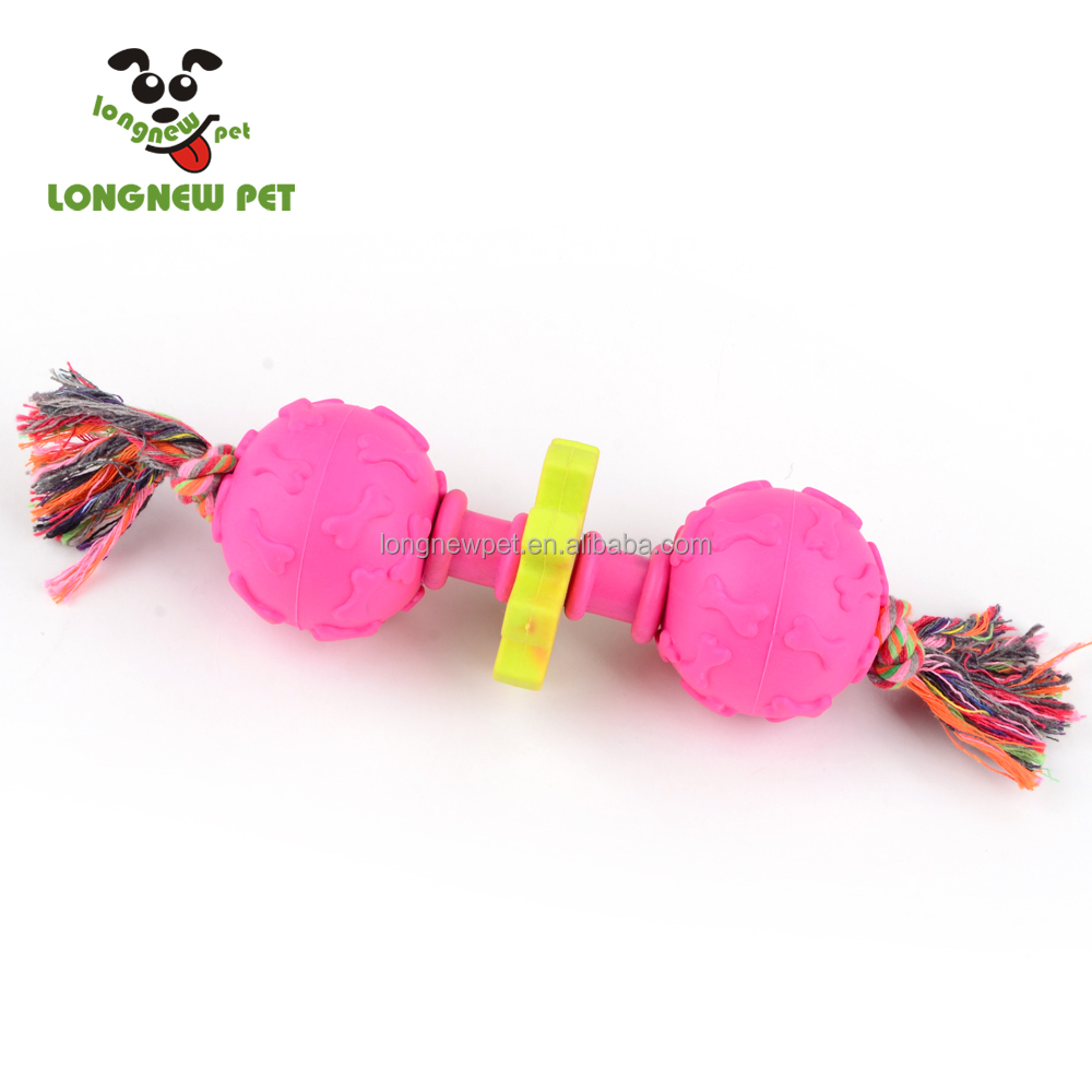 Special TPR Double Bone Shape Durable Dog Balls Big Dog Toys
