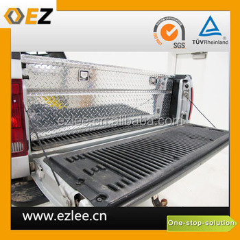 diamond pattern stainless steel truck tool box