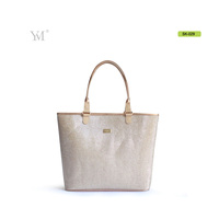 Brand new 2016 new design fashion tote shopping shiny sequin high quality handbags