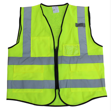 Cheap traffic safety green reflective vest on sale