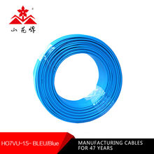 Rigid Cable PVC Insulated Wire Type 1.5 mm2 HO7V-U Single-core Electrical House Wiring Materials