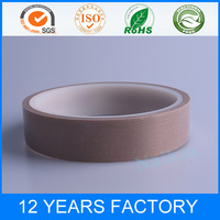 High Tempreture PTFE Coated Glass Fabric Adhesive Tape