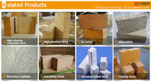 Refractory bricks/clay fire bricks / high alumina bricks
