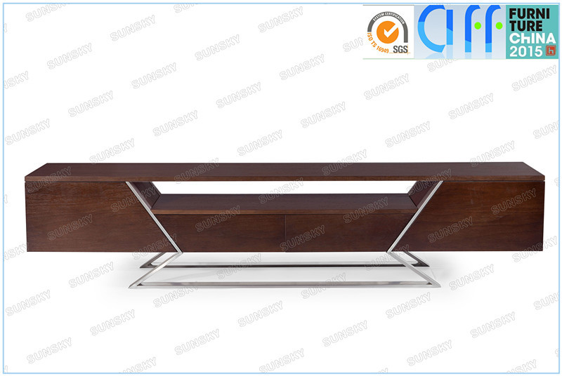 iron base high quality modern tv stand SK1224F