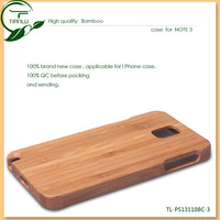 High-end 1:1 copy original wooden case with nice packaging cell phone case smart cover case for samsung galaxy note 3 III N9000