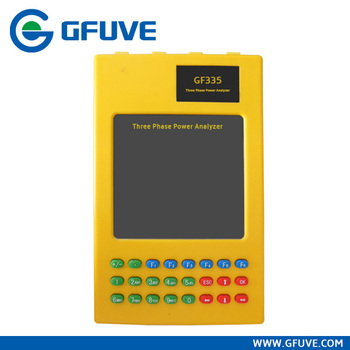 Potable three phase power quality analyzer