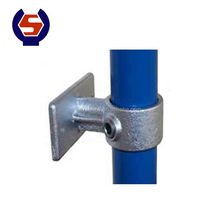 Galvanized Metal Casting Scaffolding Malleable Iron Pipe Clamp
