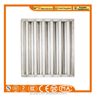 Kitchen Range Hood Parts Aluminum Mesh