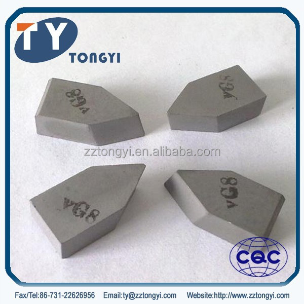Brazing carbide tips p30 for sale from professional Zhuzhou manufacturer