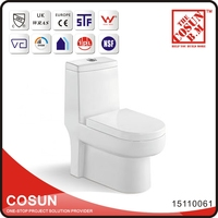 Western Ceramic Toilet WC Sizes Flat Water Closet