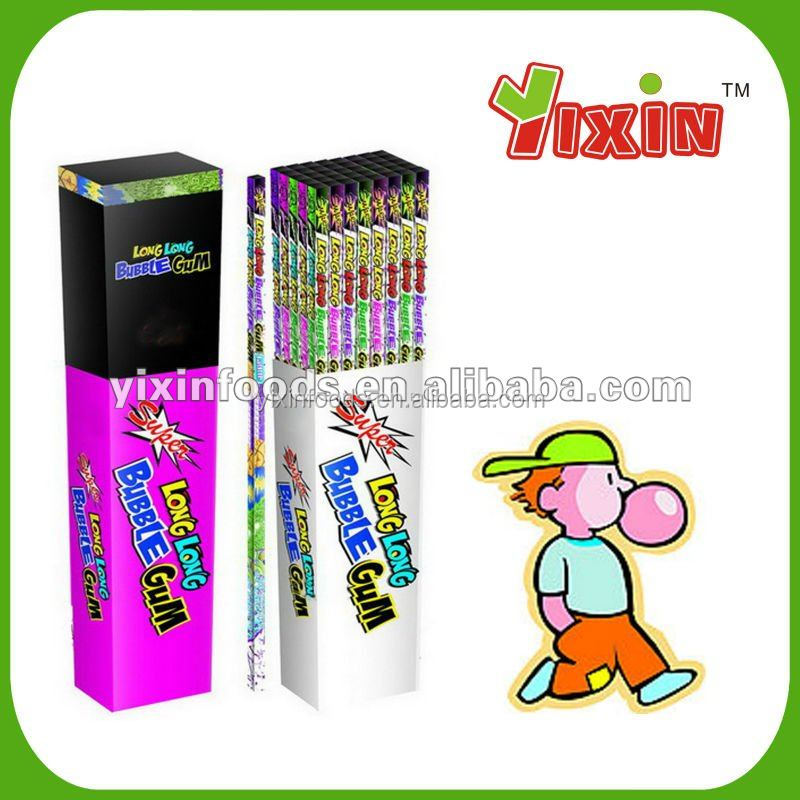 1 M Super long stick bubble gum(use as straw)