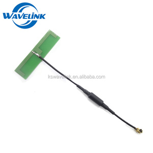PCB Materials High Gain 2.4GHz PCB Antenna Design Bluetooth WIFI Antenna 1.13 Cable IPEX U.FL Connector