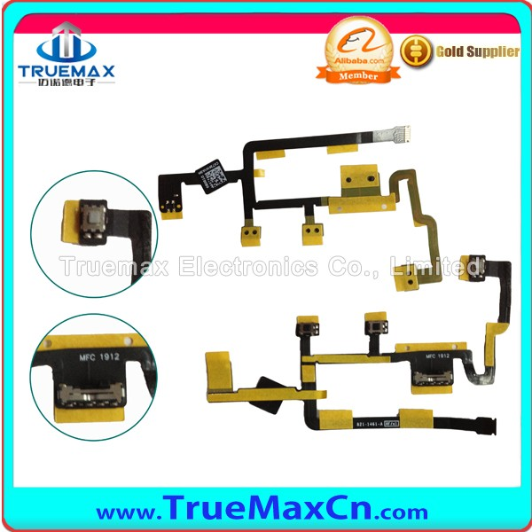 Phone Repair Parts for iPad 4 Power Volume Button Flex