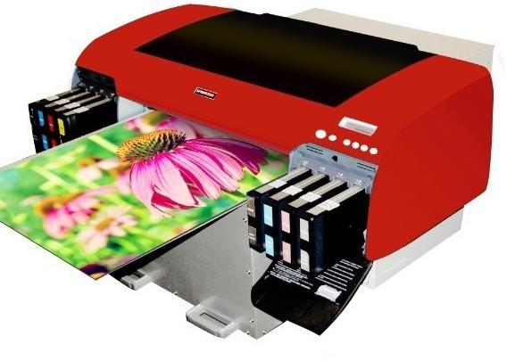 Clear Vinyl Printer Small Sticker Label Printing Machine