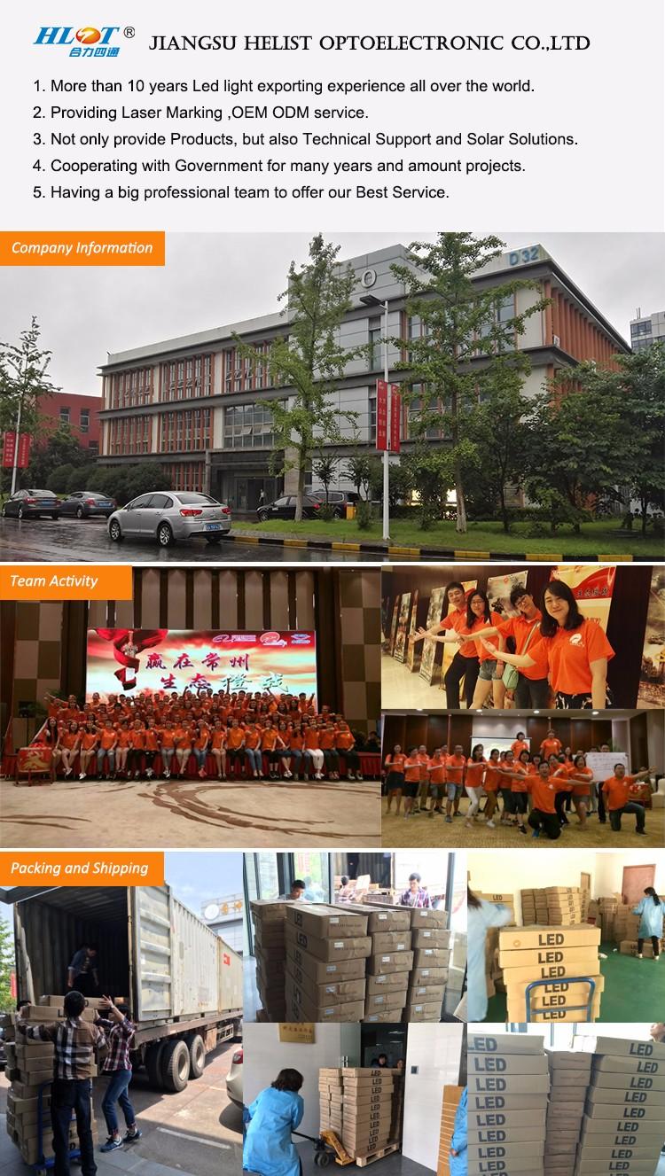 Alibaba Chine Fournisseur de Basket en Plein Air Jardin Solaire LED Rue Lumière