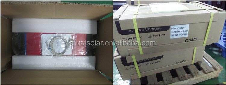 Must Solar steady performance hybird solar inverter 5000va 48vdc 220/230ac SOLAR PRODUCTS