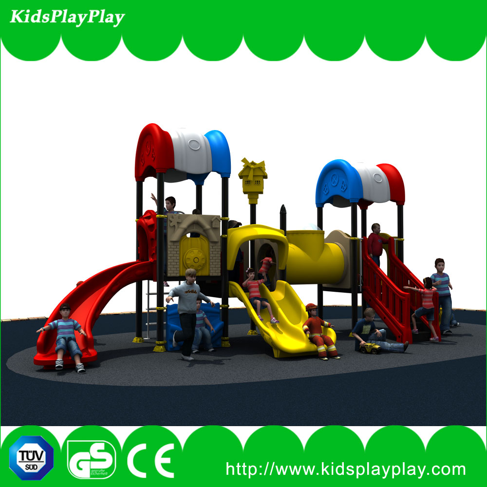 Outdoor sliding & swing games set outdoor playground equipments